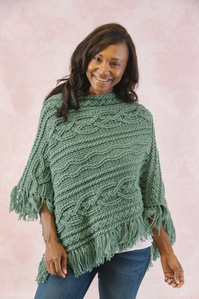 070e2a1b5 Keep yourself toasty all season with these cozy designs for crochet shawls  and ponchos.
