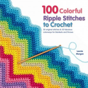 100 Colorful Ripple Stitches cover image