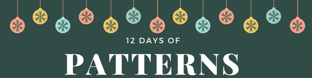12 Days of Patterns banner