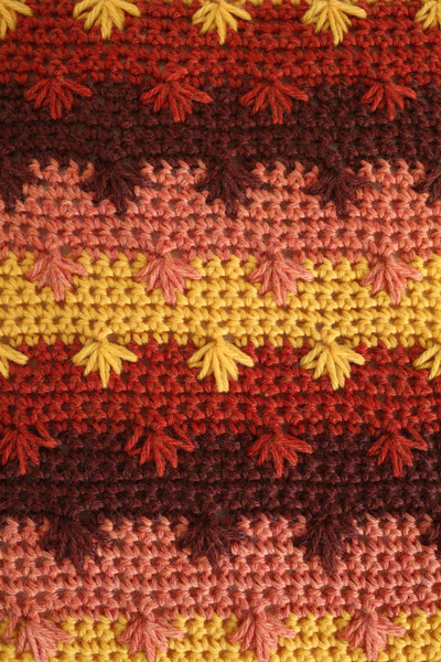 Japanese Maple Pillow I Like Crochet