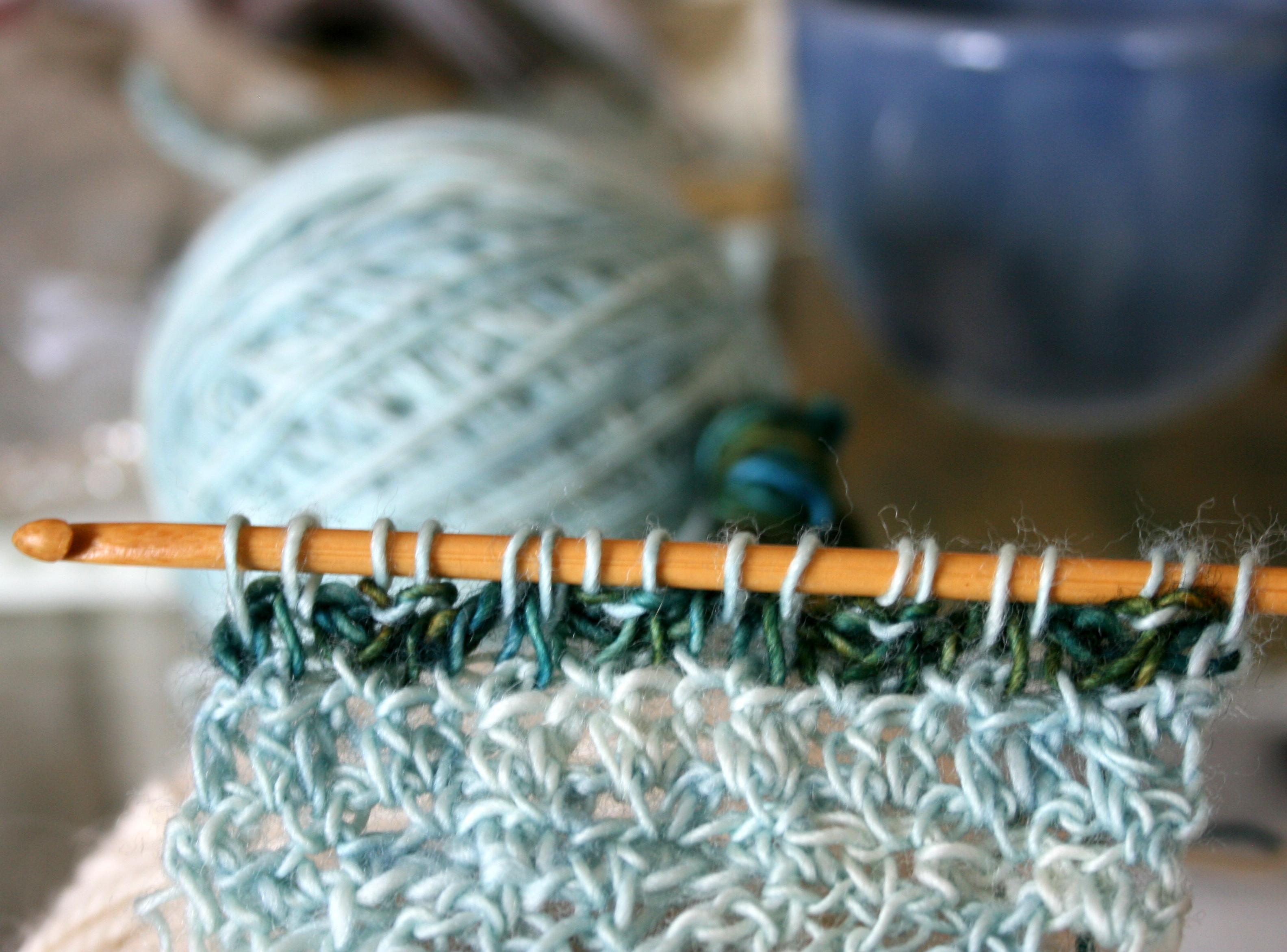 Tunisian Crochet As Accent I Like Crochet