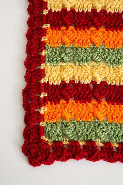Autumn Fields Throw I Like Crochet