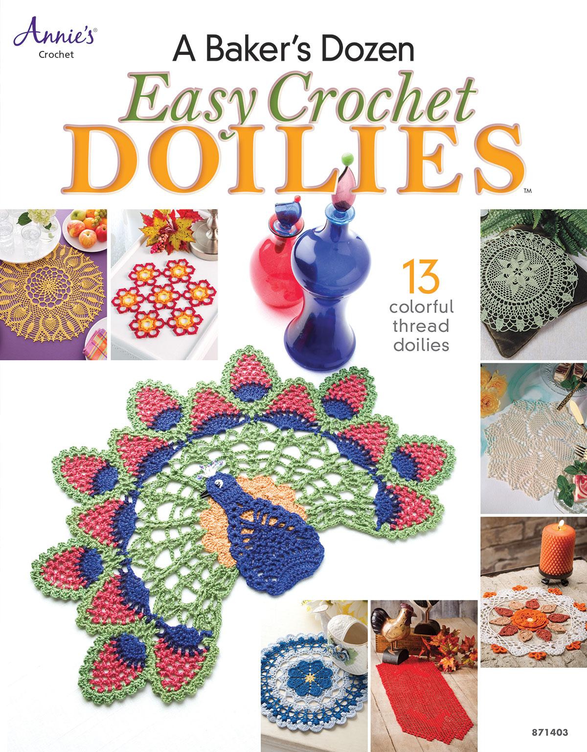 A Bakers Dozen Easy Crochet Doilies I Like Crochet