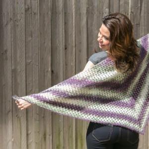 Beginner's Crochet Triangle Shawl