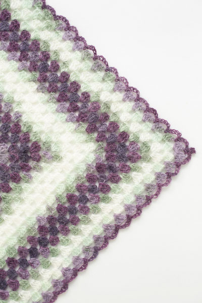 Crochet Triangle Shawl Patterns For Beginners : Beginners Triangle Shawl - I Like Crochet