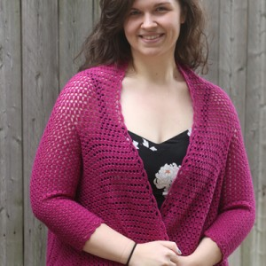 Cascading Waterfall Cardigan