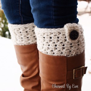Star Stitch Boot Cuffs (photo taken with OLYMPUS DIGITAL CAMERA)