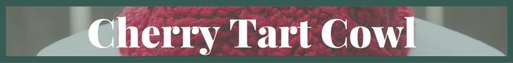 Cherry Tart Cowl