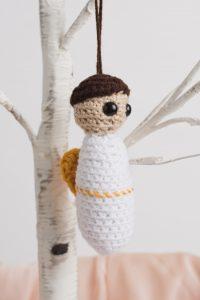 Crochet Cherub Ornament