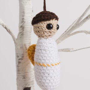 Crochet Cherub Ornament