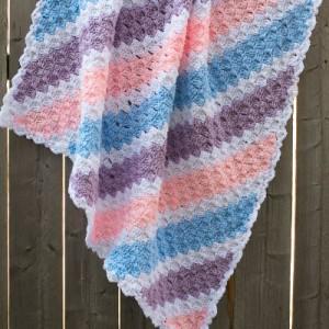 Baby Corner to Corner Crochet Blanket