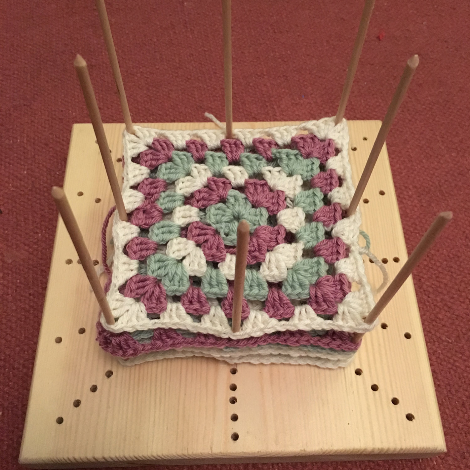 Crochet Blocking : Crochet Blocking Board - I Like Crochet