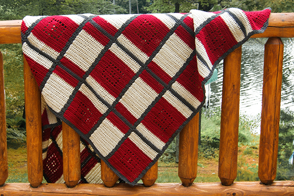 lodge plaid blanket