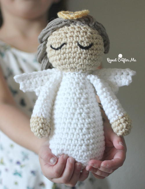 Divine Angel Crochet Doll