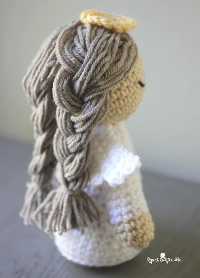 Divine Angel Crochet Doll