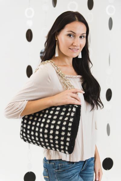 Doting On Dots Handbag I Like Crochet