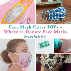 DIY Sewn Facemasks