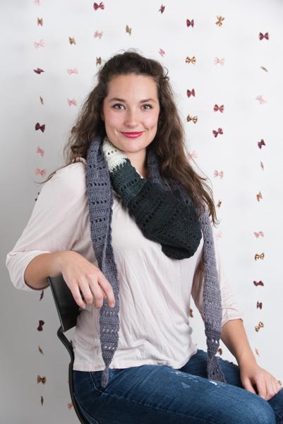 Filet Crochet in Shades of Gray