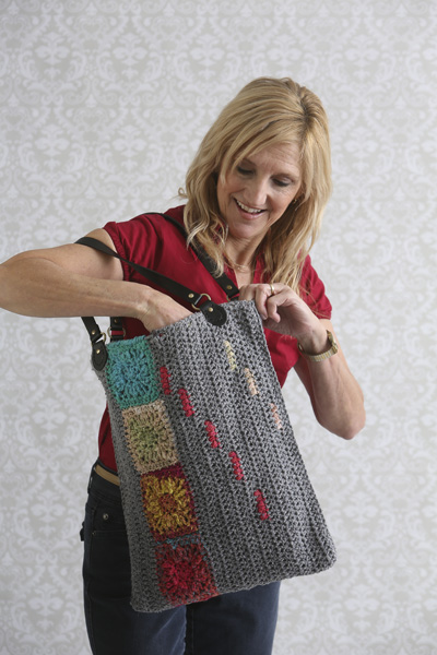 This cute handbag uses the lining techniques you just learned!