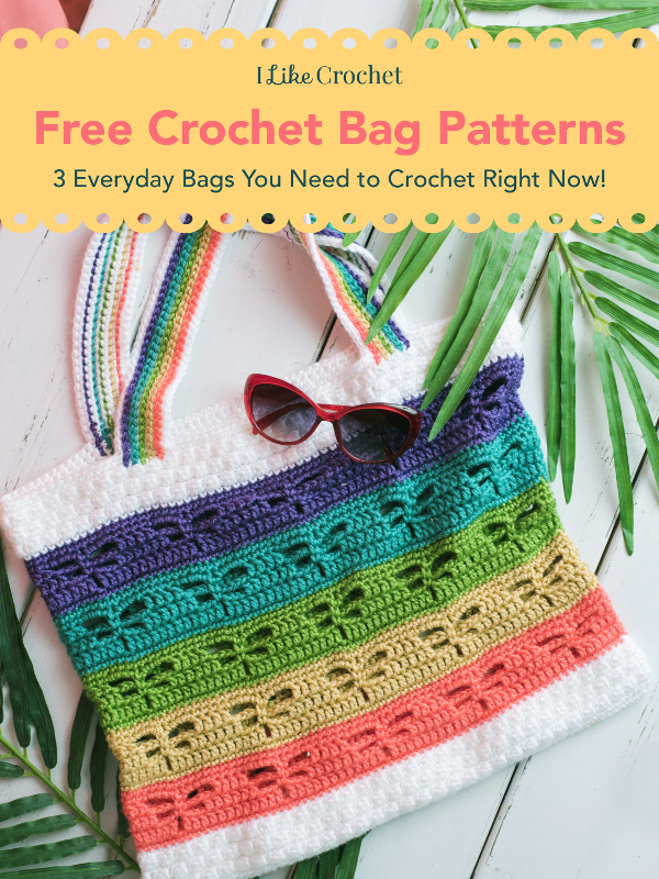 Free Crochet Bag Patterns: 3 Everyday Bags You Need to Crochet Right Now!