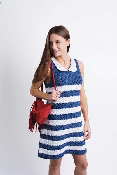 d51b35277 French Riviera Shift Dress - I Like Crochet