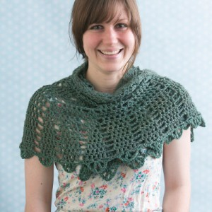Half Circle Crochet Shawl