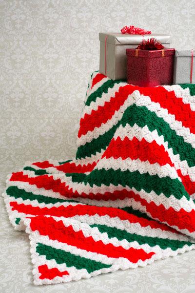 Holiday Corner To Corner Throw I Like Crochet