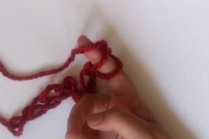 How to Finger Crochet-10
