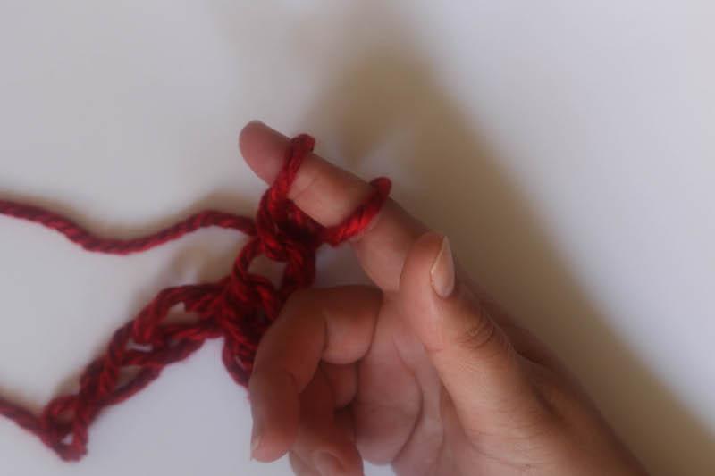 How to Finger Crochet-11
