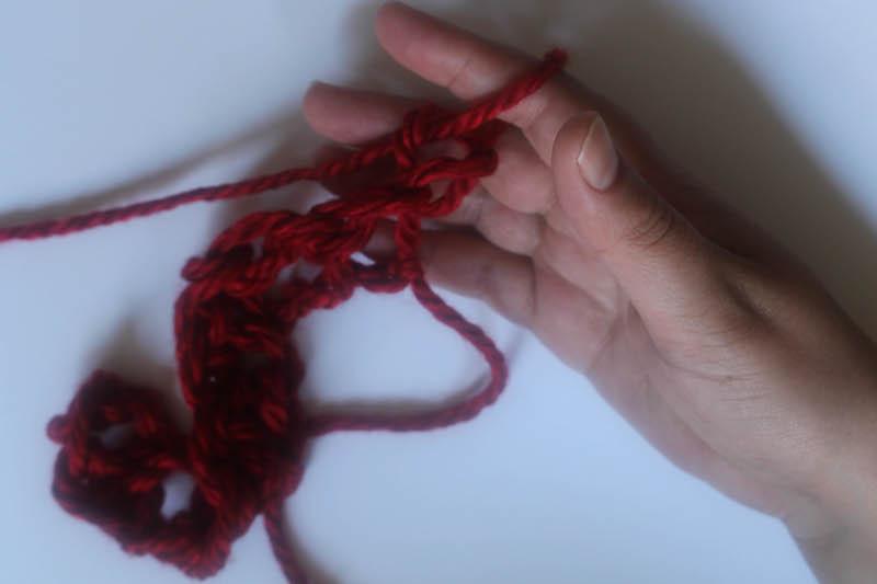 How to Finger Crochet-17