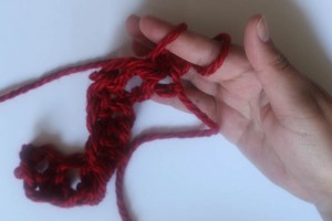 How to Finger Crochet-18