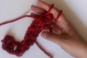 How to Finger Crochet-20