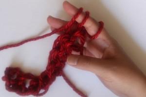 How to Finger Crochet-21