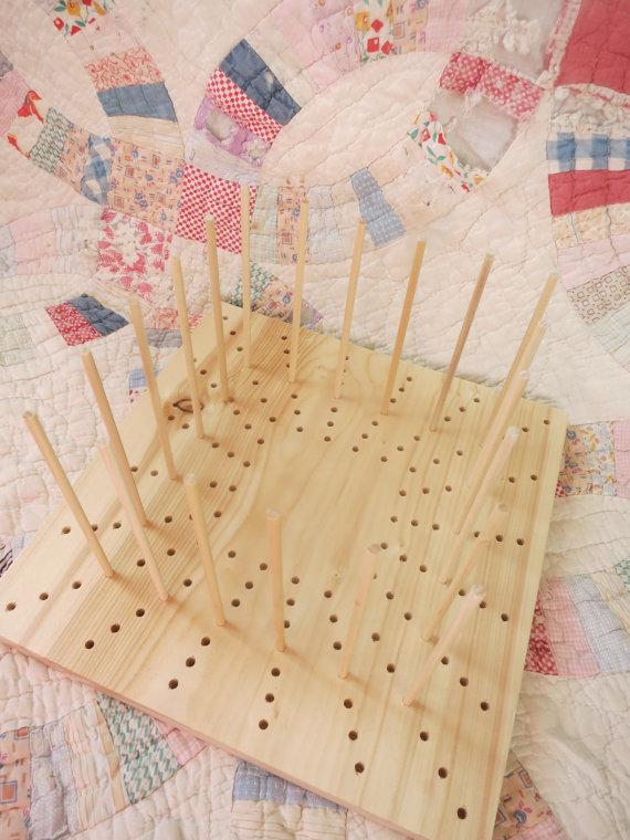 Wooden Blocking Board 4 10 I Like Crochet