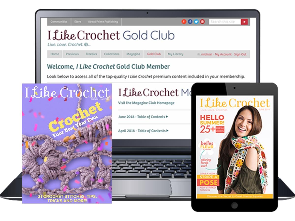 I Like Crochet Gold Club