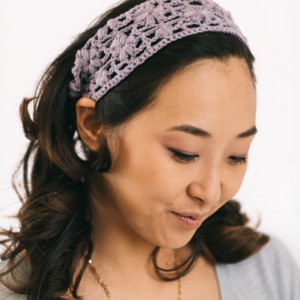 Spring Lavender Headband