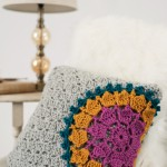 Mandala Burst Pillow