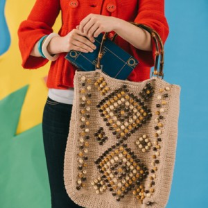 Southwestern Beaded Tote
