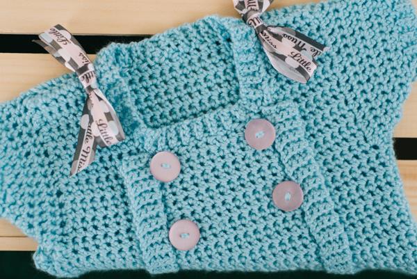 Buttons Amp Bows Dress I Like Crochet