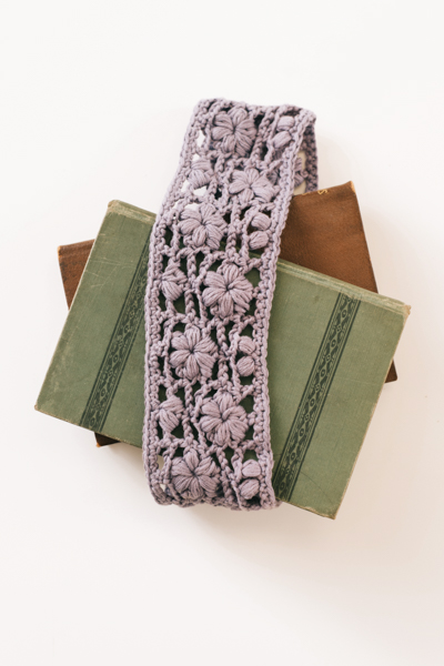 Spring Lavender Headband 2