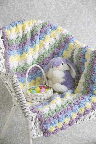 Lavender Bavarian Throw I Like Crochet