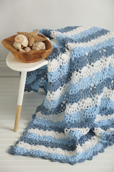 Coastline Cool Afghan I Like Crochet