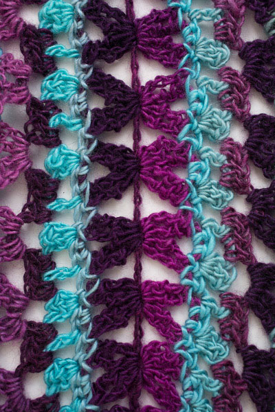 Mile a Minute Crochet Scarf