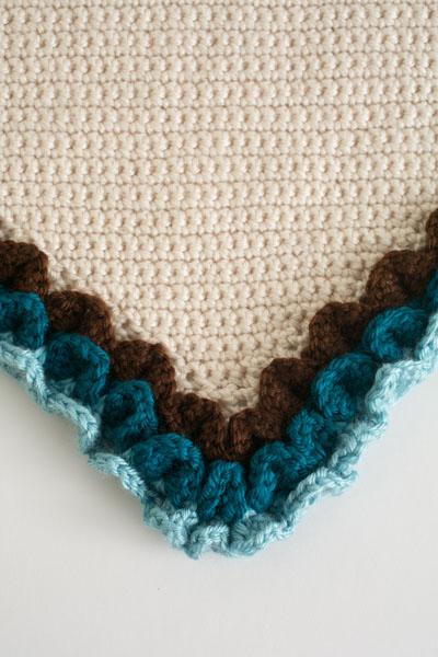 Owl Crochet Hooded Blanket