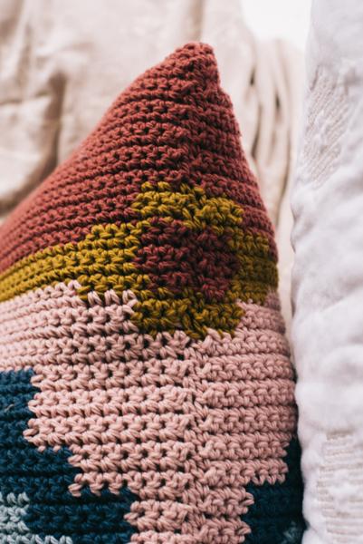 Persian Bazaar Pillow I Like Crochet