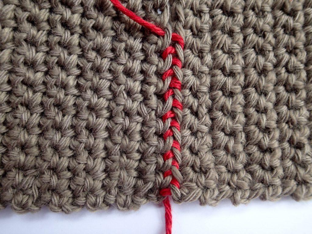 How To Seam a Sweater I Like Crochet