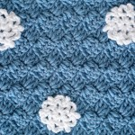 Simple Snowflake Scarf