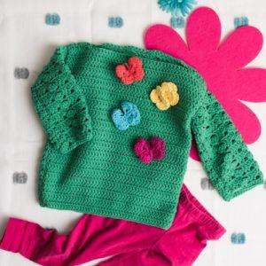 32dd6c7d299e Baby Sweaters Archives - I Like Crochet