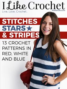 Stars, Stitches and Stripes: 13 Crochet Patterns in Red, White and Blue