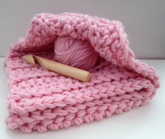 Super Chunky Baby Blanket Kit I Like Crochet